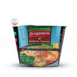 Os fabricantes da China sabor de Marisco Halal Taça macarrão instantâneo