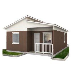 تصميم حديث سهل التصميم منخفض التكلفة مخيم العطلة منزل محافظ خرساني سابق التجهيز مع لوحة AAC