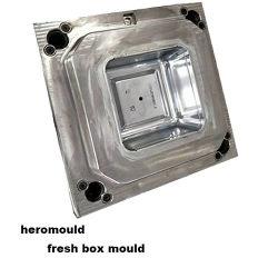 حقن البلاستيك قالب البلاستيك مربع البلاستيك تجويف مفرد مربع الطازج صندوق غداء بلاستيكي صندوق بلاستيك من البلاستيك ذو الجدار الرفيع مربع قديم مصنوع من الحوت