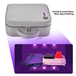 Bolsa de cosméticos de esterilización UV portátil mata a un 99% de los gérmenes 3 LED