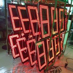 24 Öl-Bildschirm-Bildschirmanzeige des Zoll-rote Segment-LED für Gaspreis