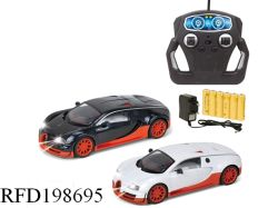 1: 18 сплава автомобиля автомобиль дистанционного управления RC модели детей игрушки