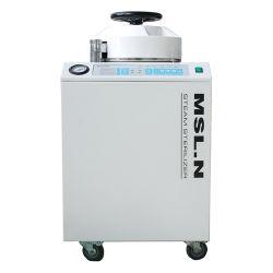 Stérilisateur vertical à vapeur médical autoclave à haute pression 80L avec Affichage LED