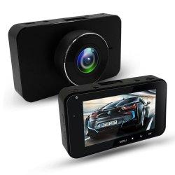 새로운 디자인 HD 1296p 가득 차있는 HD 차 DVR 비디오 녹화기를 가진 3.0 인치 차 대시 사진기