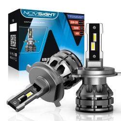 H4 15000lm オートライト LED ヘッドライト 80W 6500K 車両ヘッドランプ 自動車フォグフロントライト