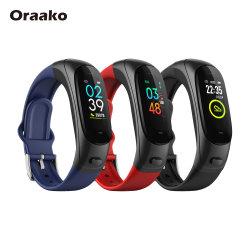 Dropshipping sofort lieferbar Vollbildschirmfernschutz für drahtloses EKG-Fitness Sport Tracker TPU Armband Smart Watch Smart Sensor Armband