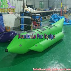 3 Pessoas Ocean Rider almofada insuflável banana boat com tubo único água Flutuante Bike Gaivotas