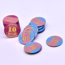 Spel van uitstekende kwaliteit van de Kaarten van de Pook van de Spaanders van de Pook van het Casino het Standaard