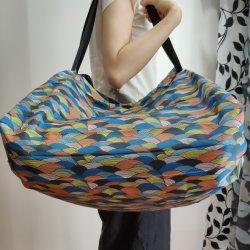 Lagrge taille des oeufs de Pâques de l'impression facile sac shopping de pliage sac non tissé