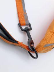 飼い犬の軽食のパッケージのポケットのための袋手犬の連続したロープが付いているペット供給ペット曳航索