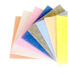 10mm Paneles acústicos de fieltro de fibra de poliéster cubiertas de pared acústica