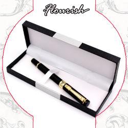 섬세하게 만든 블랙 판지 펜 선물 포장 상자(인서트 포함)