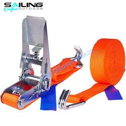 1 pulgadas 25 mm correa personalizada Conjunto de trinquete de amarre de carga de sujeción de la hebilla de trinquete ajustable al por mayor de las correas