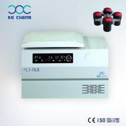 La tabla a baja velocidad cuchara centrífuga refrigerada la bolsa de sangre Laboratorio Medical L3-5kr