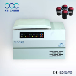 테이블 저속 냉장된 물통 분리기 실험실 의학 L3-5kr