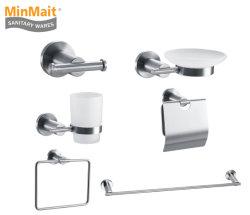 El lujo de acero inoxidable Accesorios de Baño Conjunto MX-7700