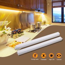 LED personnalisée en usine tube raccord Ultra Slim en vertu de l'armoire de cuisine 3000-6500K de l'Énergie de l'enregistrement de la lumière avec l'ETL