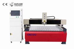 1212 2200W máquina de grabado CNC Router Metalurgia hierro fundido de piedra con bastidor de aluminio y otros de piedra de metal blando de plástico de madera