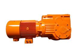 Ka37 Ka47 Ka57 Ka67 Ka77 flensmontage K-serie Helical Snelheidsverloopmechanisme conische tandwielen K87 Ka87 met 7,5 kW motor