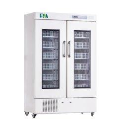 내부 도어와 자동 ON/OFF 냉각 팬이 있는 혈액 은행 Refrigeratormbc-4V658 도어를 열 때 차가운 공기가 새는 것을 방지합니다.