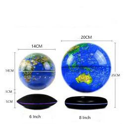 6-дюймовый магнитных Levitation земного шара может свечи и повернуть в мире