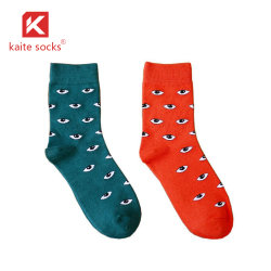 2020 Venta caliente feliz calcetines de algodón puro estilo feliz feliz mayorista calcetines calcetines