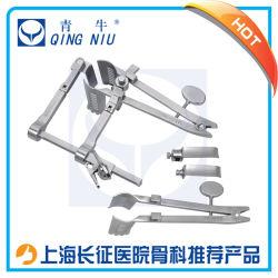 Instrumento médico Retractor bidireccional de instrumental quirúrgico