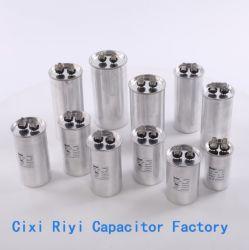 Condensateur de fonctionnement de moteur CA TUV UL S2 5-120UF Cbb65A 450V Pour climatiseur