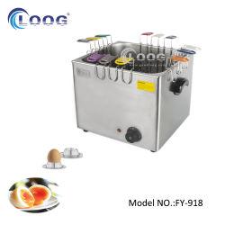Catering-Ausrüstung Arbeitsplatte Egg Steamer Gewerbliche Eierkessel Elektrische Eier Herd mit 6 Halter für Restaurant