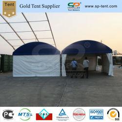 Две комнаты купол палатка с верхней части крыши