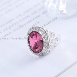 新しい水晶宝石類のリングの女性のためのチャーミングな宝石類のリング