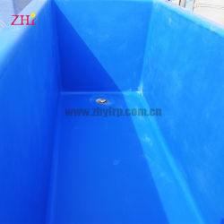 Fischzucht-Becken-Wasser-Becken-Fiberglas der Fisch-Vorratsbehälter-FRP