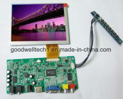 "AV/VGA/HDMI 5.6""TFT LCD SKD Módulo para o Sistema de Controle Industrial"