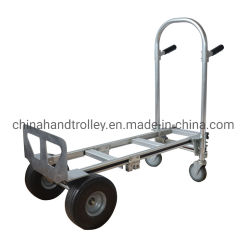 L'aluminium 10pouce main roue chariot en mouvement chariot de pliage