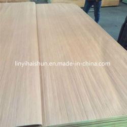 Conçu en bois de placage frêne Recon/Oak/placage de noyer/Gurjan pour meubles