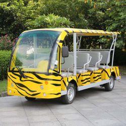 Cer genehmigte der 14 Sitzelektrischen Doppelventilkegel-Bus im Flughafen (DN-14)
