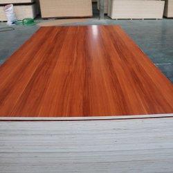 18 mm de melamina blanca laminada de tablero contrachapado de madera contrachapada revestido de melamina