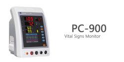 Video PC-900sn SpO2 dei segni vitali e video di NIBP con il carrello