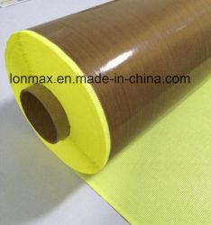 Recubierto de PTFE cinta adhesiva Industrial Productos de fibra de vidrio.