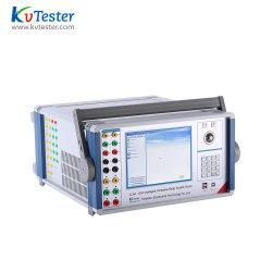 Universal 6-Phase testeur de relais de protection pour les systèmes d'alimentation