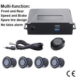 Универсальный звуковой сигнал переднего и заднего бампера Автостоянка заднего датчика