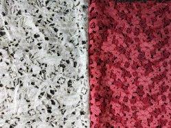Swiss Tulle Lace Tecido Floral Rendas de Química de vestido de festa vestido Acessórios para