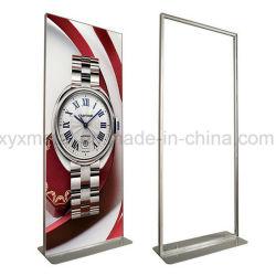 Bekanntmachen Ausstellung-Plakat-Aufhängungs-des vertikalen Aluminiumausstellungsstandes