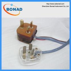 BS1363 Figure 30 Fiche de test pour l'élévation de température