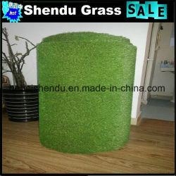 Matériau PE monofilament de tapis de gazon artificiel de 25 mm