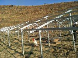 Соединение на массу монтажные кронштейны оцинкованной стали для солнечной системы питания