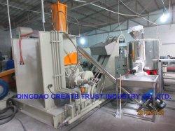 中国の高品質のレベルPE/PP/LDPE/PVC/EVA Masterbatchの粒状になる機械(CE/ISO/SGS)