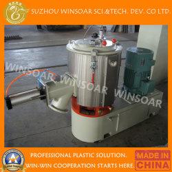 진공 흡입 공급 시스템을%s 가진 수직 유형 플라스틱 원료 PVC 섞임계