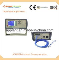 Enregistreur de données de température multicanaux mètre pour l'eau (à4508)