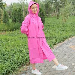 prix d'usine de nombreuses couleurs monochromes de vêtements de pluie